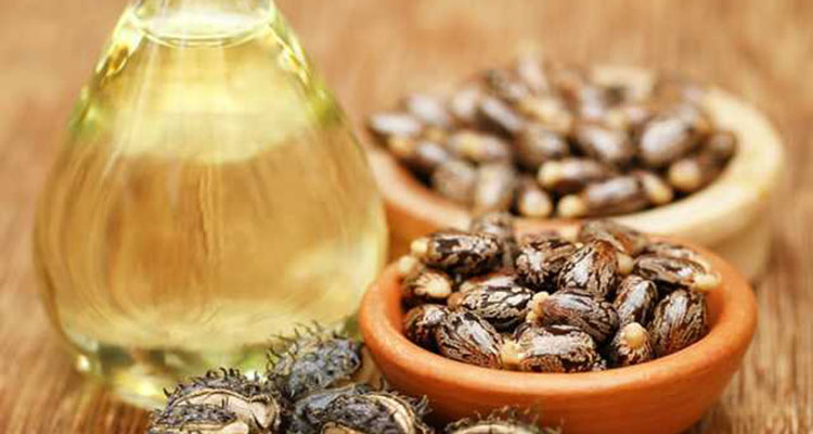 castor oil to reduce wrinkles on face fore head and eyes