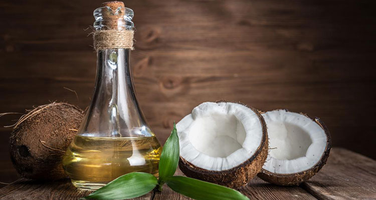 coconut oil to reduce wrinkles face